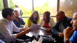 Reunión Presidenta comisión Medioambiente