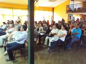 Proyección SECOS en comuna de Petorca