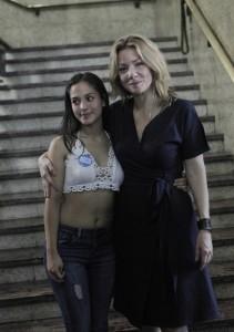 Rocío Toscano y Chamila Rodríguez