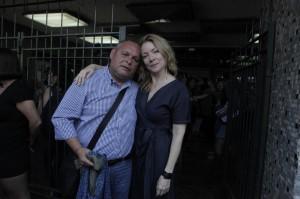 Rodrigo Mundaca y Chamila Rodríguez